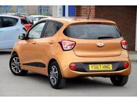 2017 Hyundai i10 1.2 Premium Petrol orange Manual