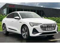 2020 Audi E-Tron Sportback S line 55 quattro 300,00 kW Auto Hatchback Electric A