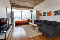 New chic loft, close to Lachine canal