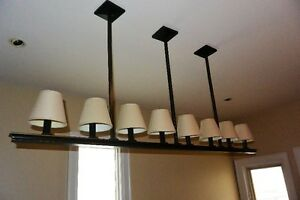 Pottery Barn Dining Room Light