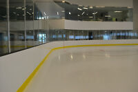 Hockey Arena Puckboard For Sale - Great for Wall Coverings