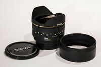 Sigma 15mm f2.8 EX D Fisheye Lens for Nikon