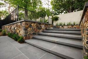 Premium Bluestone Pavers 600x300x30mm Sawn or Honed Finish per m2 Caulfield Glen Eira Area Preview