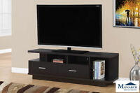 """Brand NEW Cappuccino 60"""" TV Stand w/2 Drawer! Call 506-854-6686!"""