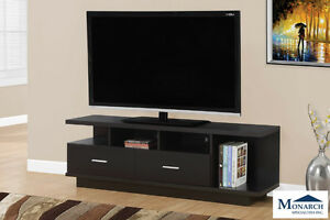 "Brand NEW Cappuccino 60"" TV Stand w/2 Drawer! Call 506-854-6686!"