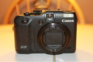 Canon G12 Digital Camera With Video