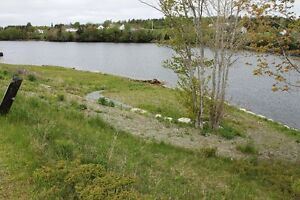 Serviced Lot (Septic, Well & Shed) w/ Waterfront across the Road