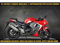 2016 66 HYOSUNG GT125 RC 125CC 0% DEPOSIT FINANCE AVAILABLE