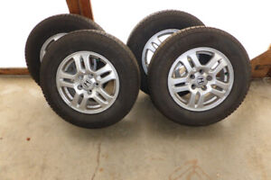 """15"""" Michelin X-Ice Snow Tires and Alloy Rims"""