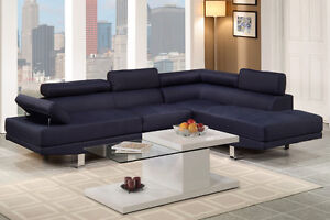 NEW! Ultra Modern Sectional Sofa with Adjustable Headrests! Comox / Courtenay / Cumberland Comox Valley Area image 2