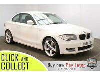 2009 59 BMW 1 SERIES 2.0 118D SPORT 2DR 141 BHP DIESEL