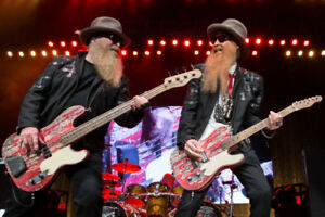 ZZ Top concert tickets - 2 in the 3rd row on the floor