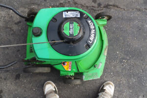 excellent working lawn boy lawn mower with aluminium deck