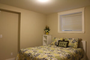New, furnished 2 BDR suite. North Delta. Avail Jan1st.