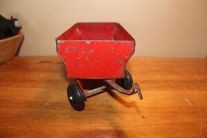 Vintage Tin Toy Farm Wagon - Massey Ferguson London Ontario image 4