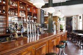Seeking confident, happy barstaff for full or part-time