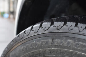 Goodyear Winter Tires, 235/55R18 - Great Condition