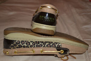 Sperry Boat Shoes - leopard print size 6.5 Kitchener / Waterloo Kitchener Area image 4