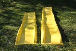 Cool Wave Yellow Slide ~ 8 foot and 10 foot lengths