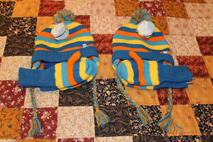 Hat and gloves set