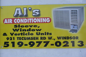Wall/Sleeve Air Conditioners Sales & Service