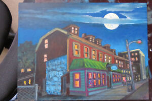 Print of Bearly's House of Blues for sale.
