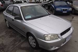 2001 Hyundai Accent GL Manual Sedan Beaconsfield Fremantle Area Preview