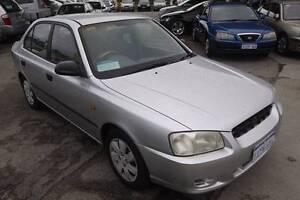 2001 Hyundai Accent Sedan Beaconsfield Fremantle Area Preview