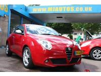 2012 12 ALFA ROMEO MITO 1.4 TB MULTIAIR DISTINCTIVE 3DR RED