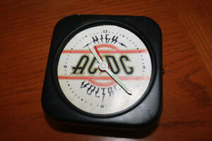 ACDC  wined up alarm clock.
