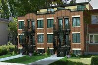 Terrain vendre Montréal deux  terrains pour 8 condos