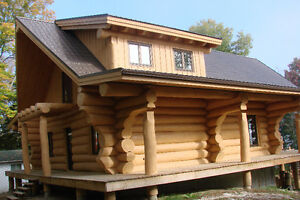 handcrafted log homes  monster logs Kitchener / Waterloo Kitchener Area image 9