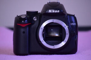 Nikon D5000 DSLR in great condition
