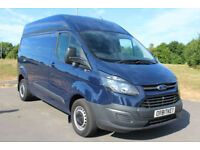 Ford Transit Custom 2.2TDCi ( 125PS ) 290 L2H2 BLUE DIESEL VAN WITH AIR/CON