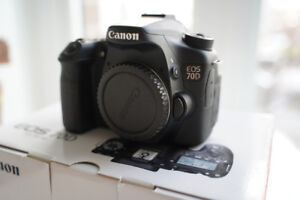 Canon 70D Body - Like New