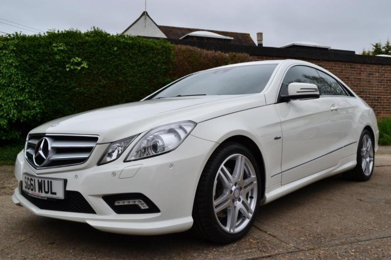 2011 mercedes e class e350 cdi blueefficiency sport automatic white coupe diesel in hartley - Mercedes classe e coupe 350 cdi ...