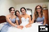 PHOTOGRAPHE,VIDÉOGRAPHE,CAMERAMAN,VIDÉO,WEDDING, MARIAGE 399$