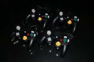2X NINTENDO GAMECUBE NGC-MANETTES/CONTROLLERS (NEUF/NEW) [VOIR/SEE DESCRIPTION] (C003)