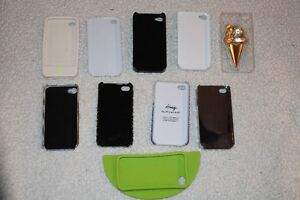 10 cell phone cases for iPhone 4 or 4S and 5 home buttons Kitchener / Waterloo Kitchener Area image 6