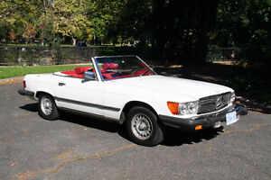 1978 Mercedes-Benz 450SL Convertible - LOW MILEAGE