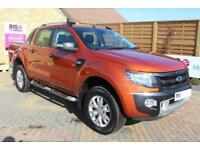 2015 FORD RANGER WILDTRAK 4X4 TDCI 197 BHP DOUBLE CAB PICK UP DIESEL