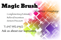 Residential and Commercial Painting Service GTA