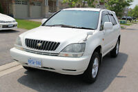 1999 TOYOTA HARRIER ( Lexus RX300 ) Right Hand Drive (JDM)