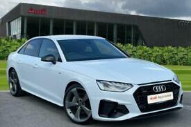image for Audi A4 Black Edition 40 TDI quattro 190 PS S tronic Semi Auto Saloon Diesel Aut
