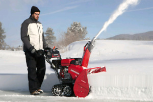 Repairing snowblowers and small engines