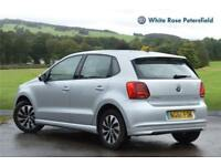 2017 Volkswagen Polo BlueMotion 1.0 TSI 95PS 5-speed Manual 5 Door Petrol silver