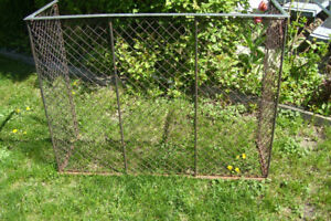 Wire Mesh Fireplace Screen For Vintage Garden or Woodstove