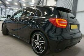 2015 BLACK MERCEDES A200 1.6 AMG NIGHT EDITION PETROL CAR FINANCE FR £209 PCM
