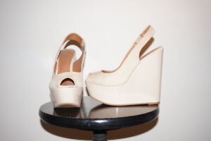 BARELY WORN HEELS - SIZE 7 - $4 A PAIR - ALDO & OTHERS