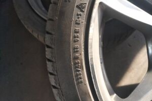 Winter Tires with BMW Mags - FOR SALE - 225 / 45 / R18